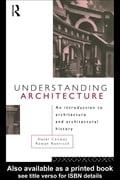 Understanding Architecture - Conway, Hazel