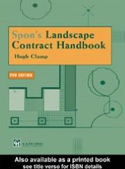Spon's Landscape Contract Handbook