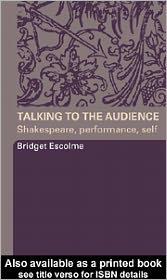 Talking to the Audience - Bridget Escolme