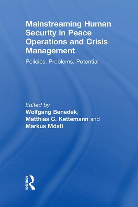 Mainstreaming Human Security in Peace Operations and Crisis Management als eBook von - Taylor & Francis