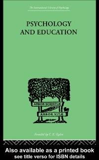 Psychology And Education als eBook von Robert Morris OGDEN - Taylor and Francis