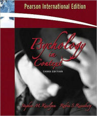 Psychology: The Brain, the Person, the World - Stephen Michael Kosslyn