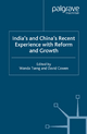 India's and China's Recent Experience with Reform and Growth - Wanda S. Tseng; David Cowen