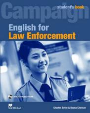 English for Law Enforcement Student's Book Pack - Charles Boyle (author), Ileana Chersan (author)