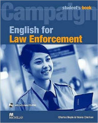 English for Law Enforcement: Student Book with CD-ROM
