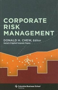 Corporate Risk Management - Herausgeber: Chew, Donald H.