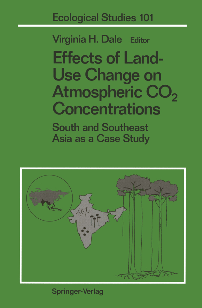 Effects of Land-Use Change on Atmospheric CO2 Concentrations als Buch von - Springer