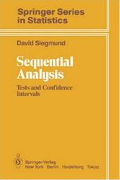Sequential Analysis - Siegmund, David
