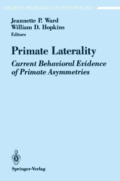 Primate Laterality - Ward, Jeannette P. / Hopkins, William D. (eds.)