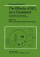 The Effects of SO2 on a Grassland: A Case Study in the Northern Great Plains of the United States (Ecological Studies)