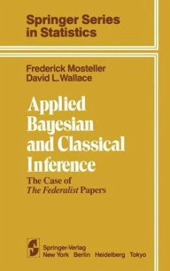 Applied Bayesian and Classical Inference Federalist Papers: The Case of the Federalist Papers - Mosteller, F. Wallace, D. L.