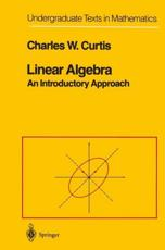 Linear Algebra - Charles Curtis
