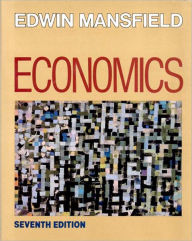 Economics: Principles, Problems, Decisions - Edwin Mansfield