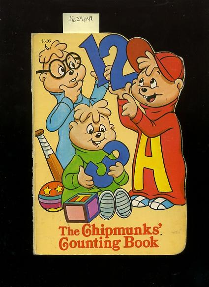 The Chipmunks' Counting Book [Pictorial Children's Reader, Learning to Read, Skill Building, Shaped Board book]