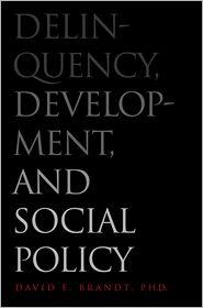 Delinquency, Development, and Social Policy - David E. Brandt