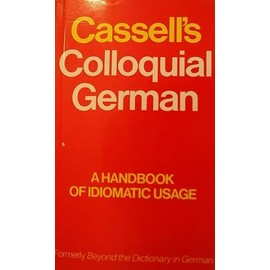 CASSELL'S COLLOQUIAL GERMAN - Beatrix Anderson