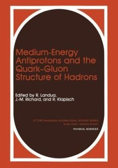 Medium-Energy Antiprotons and the Quark-Gluon Structure of Hadrons (Ettore Majorana International Science Series: Physical Sciences) by