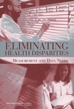 Eliminating Health Disparities: Measurement and Data Needs - Ver Ploeg, Michele Perrin, Edward Panel on Dhhs Collection of Race & Ethni