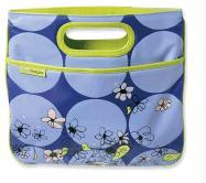 True Images Flower Violet Bouquet Carrier with Clutch Handles