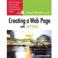 Creating a Web Page with HTML Visual QuickProject Guide - Castro, Elizabeth