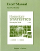 Excel Manual for Elementary Statistics - Ron Larson; Elizabeth Farber