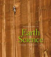 Pearson Etext Student Access Code Card for Foundations of Earth Science