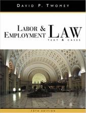 Labor and Employment Law - Twomey, David P.