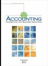 Accounting: Information for Decisions - Cunningham, Billie / Cunningham / Nikolai, Loren A.