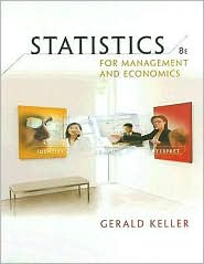 Statistics for Management and Economics (with CD-ROM) - Gerald Keller
