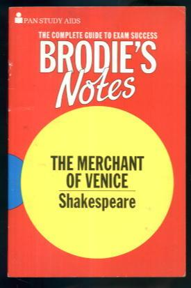 Brodie's Notes: The Merchant of Venice - Shakespeare