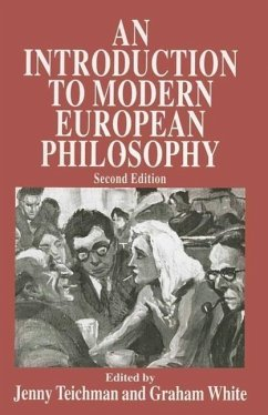 An Introduction to Modern European Philosophy - Teichman, Jenny