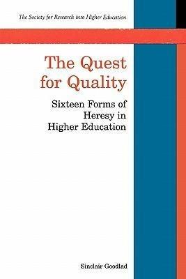 The Quest for Quality - Sinclair Goodlad#Goodlad