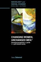 Changing Women, Unchanged Men?