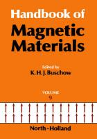 Handbook of Magnetic Materials Hfm 9handbook of Ferromagnetic Materials Vol.9