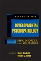 Developmental Psychopathology, Volume 3, Risk, Disorder, and Adaptation - Dante Cicchetti; Donald J. Cohen