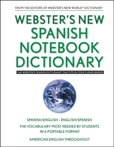 Webster's New Spanish Notebook Dictionary