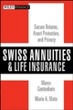 Swiss Annuities and Life Insurance - Marco Gantenbein; Mario A. Mata