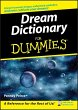 Dream Dictionary For Dummies (eBook, PDF) - Peirce, Penney