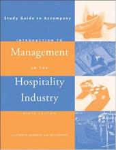 Study Guide to Accompany Introduction to Management in the Hospitality Industry - Barrows, Clayton W. / Powers, Tom