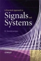 A Practical Approach to Signals and Systems - Duraisamy Sundararajan