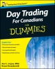 Day Trading For Canadians For Dummies - Ann C. Logue;  Bryan Borzykowski