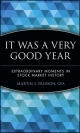 It Was a Very Good Year - Martin S. Fridson