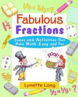 Fabulous Fractions: Games and Activities That Make Math Easy and Fun