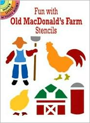 Fun with Old MacDonald's Farm Stencils - Ellen Harper