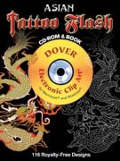 Asian Tattoo Flash CD-ROM and Book