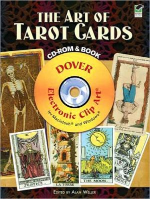 The Art of Tarot Cards CD-ROM and Book - Alan Weller