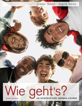 Wie Geht's?: An Introductory German Course - Sevin, Dieter / Sevin, Ingrid