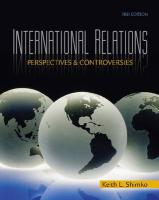 International Relations: Perspectives and Controversies