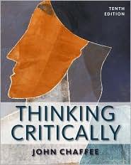 Thinking Critically - John Chaffee