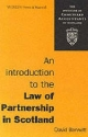 Introduction to the Law of Partnership in Scotland - David A. Bennett